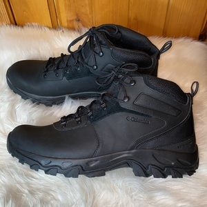 Columbia Newton Ridge Plus Li 7 Black Hiking Boots